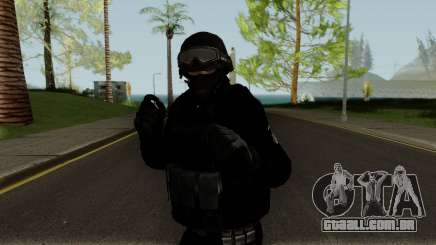 Skin Policia Civil: GOE para GTA San Andreas