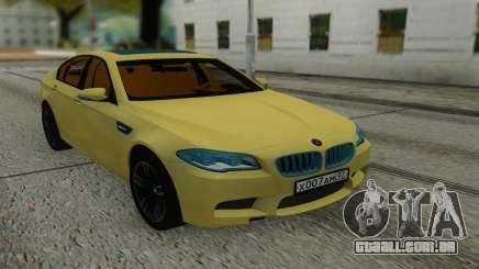 BMW M5 F10 Sedan para GTA San Andreas