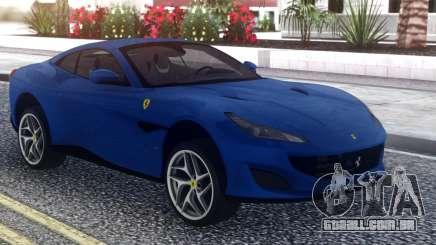 Ferrari Portofino 2018 para GTA San Andreas