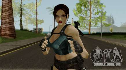 Lara Well Armed (Big Stuff Version) para GTA San Andreas