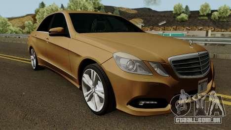 Mercedes-Benz E500 para GTA San Andreas vista interior