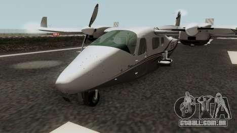Tecnam P2006T para GTA San Andreas