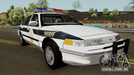 Ford Sheriff Arklay Country Mountains para GTA San Andreas
