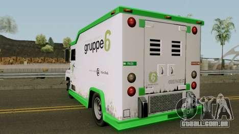 Brute Securicar (1990) para GTA San Andreas