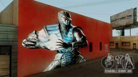 Sub Zero Mural para GTA San Andreas