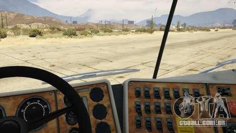GTA 5 Navistar International 9800 1.0 voltar vista