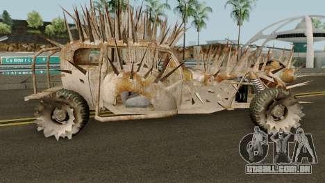 O abutre de Mad max. para GTA San Andreas