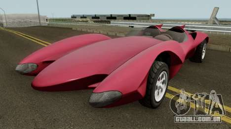 Declasse Scramjet Mach 5 v2 GTA V IVF para GTA San Andreas