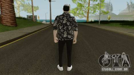 Skin DLC After Hours Male para GTA San Andreas terceira tela
