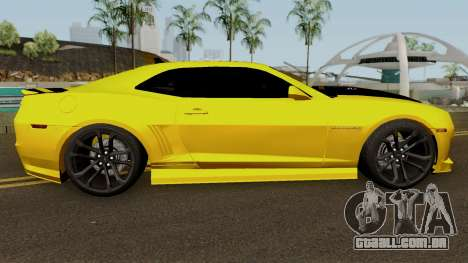 Mygarage Chevrolet Camaro SS Construção (Izmir a para GTA San Andreas