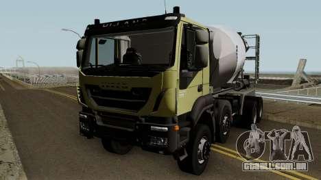 Iveco Trakker Cement 8x4 para GTA San Andreas