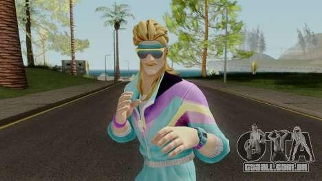 Fortnite 80s Skin Male para GTA San Andreas