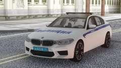 BMW M5 F90 Police para GTA San Andreas