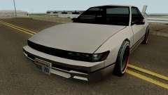Nissan Silvia S13 For Low PC para GTA San Andreas