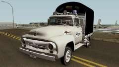 Ford F100 Con Estacas para GTA San Andreas