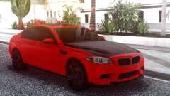 BMW M5 F10 Red para GTA San Andreas