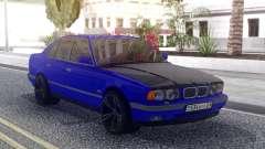 BMW M5 E34 Blue para GTA San Andreas