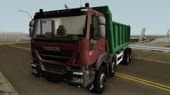 Iveco Trakker Dumper 8x4 para GTA San Andreas