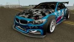 BMW M4 F82 Storm para GTA San Andreas