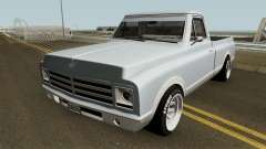 Chevrolet C-10 Custom Pickup Normal 1967 para GTA San Andreas