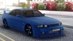 Nissan Skyline R33 Blue para GTA San Andreas