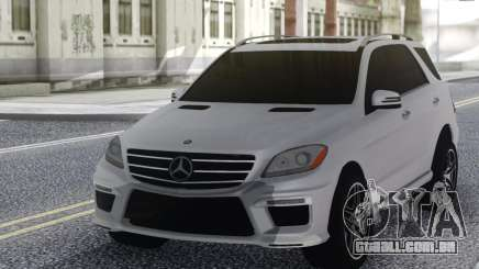 Mercedes-Benz ML63 White para GTA San Andreas