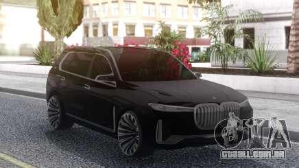 BMW X7 2017 para GTA San Andreas
