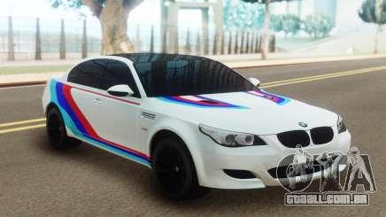 BMW M5 E60 AMG para GTA San Andreas