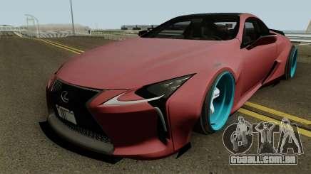Lexus LC 500 Liberty Walk 2017 para GTA San Andreas
