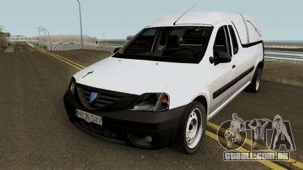 Dacia Logan Pickup (Pompe Funebre) 2008 para GTA San Andreas