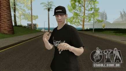 Skin GTA V Online (Normalmap) 2 para GTA San Andreas