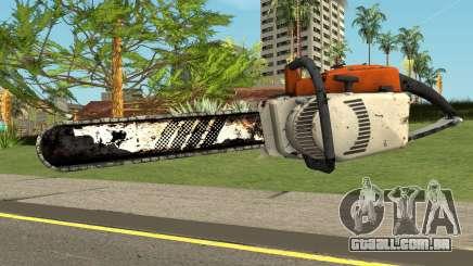 Chainsaw HQ (With HD Original Icon) para GTA San Andreas
