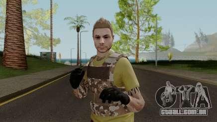 Skin GTA V Online (Normalmap) 4 para GTA San Andreas