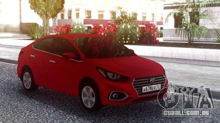 Hyundai Accent Solaris 2018 para GTA San Andreas