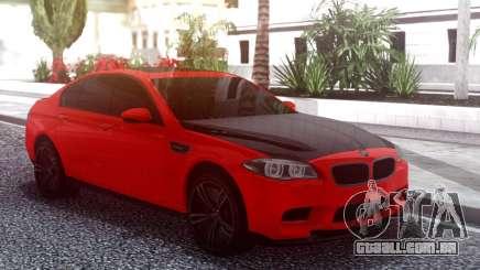 BMW M5 F10 Red para GTA San Andreas