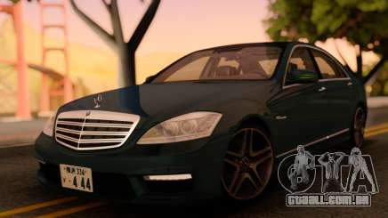 Mercedes-Benz S65 AMG Japanese HQ para GTA San Andreas
