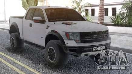 Ford Raptor White para GTA San Andreas