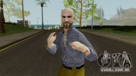 Bald Head Male para GTA San Andreas