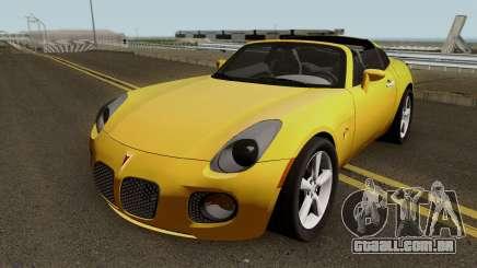 Pontiac Solstice GXP Coupe 2.0l 2009 IVF para GTA San Andreas