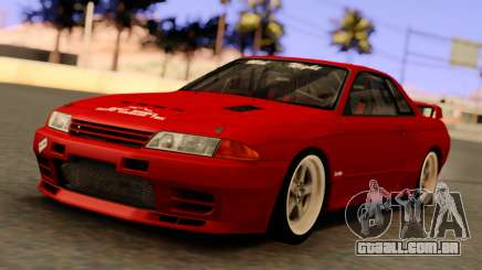 Nissan Skyline GT-R BNR32 TBK Red para GTA San Andreas