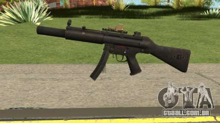 Silenced MP5 with Eotech para GTA San Andreas