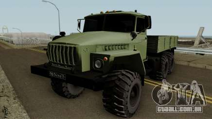 Ural 4320 Radmir RP para GTA San Andreas