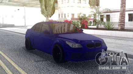 BMW M5 E60 Blue para GTA San Andreas