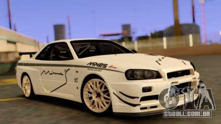 Nissan Skyline R34 Leks para GTA San Andreas
