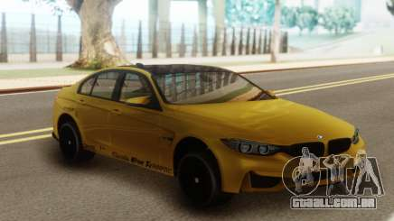 BMW M3 F30 Acrapovic para GTA San Andreas