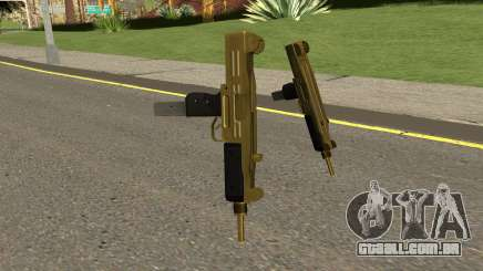 Gold UZI From GTA IV TBOGT para GTA San Andreas