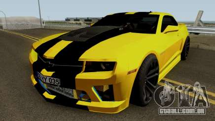 Mygarage Chevrolet Camaro SS Construção (Izmir auto) para GTA San Andreas