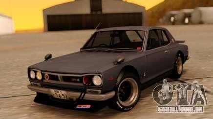 Nissan Skyline 2000GT RHD para GTA San Andreas