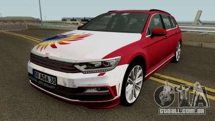 Volkswagen combi B8 MEY Construção (Izmir-Quarta-feira) para GTA San Andreas