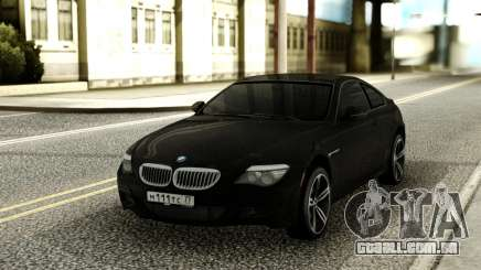 BMW M6 Black para GTA San Andreas